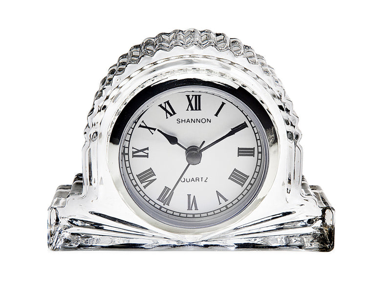 Shannon Small Crystal European Mantle Clock