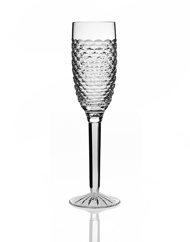 Beehive Cut Champagne Flutes