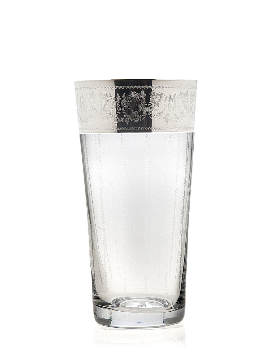 Heirloom Platinum Highball Glasses 13.5oz
