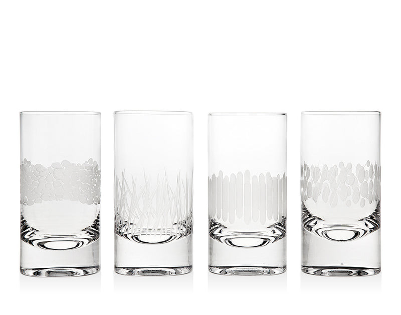 Galleria Set of 4 Highball Glasses