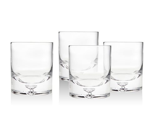 Carlisle Set of 4 Double Old Fashioned Glasses