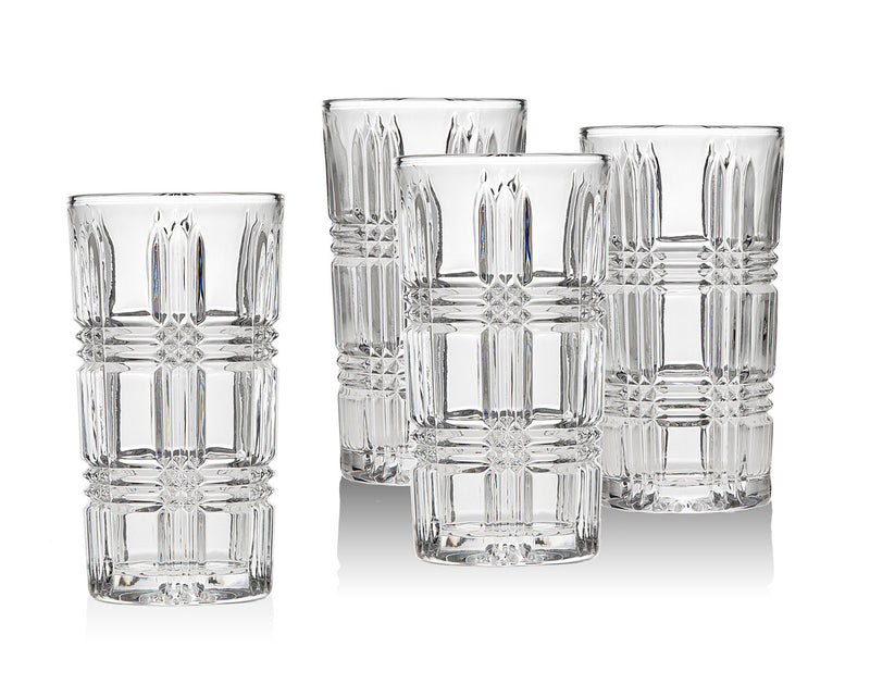Brookfield Set of 4 Highball Glasses