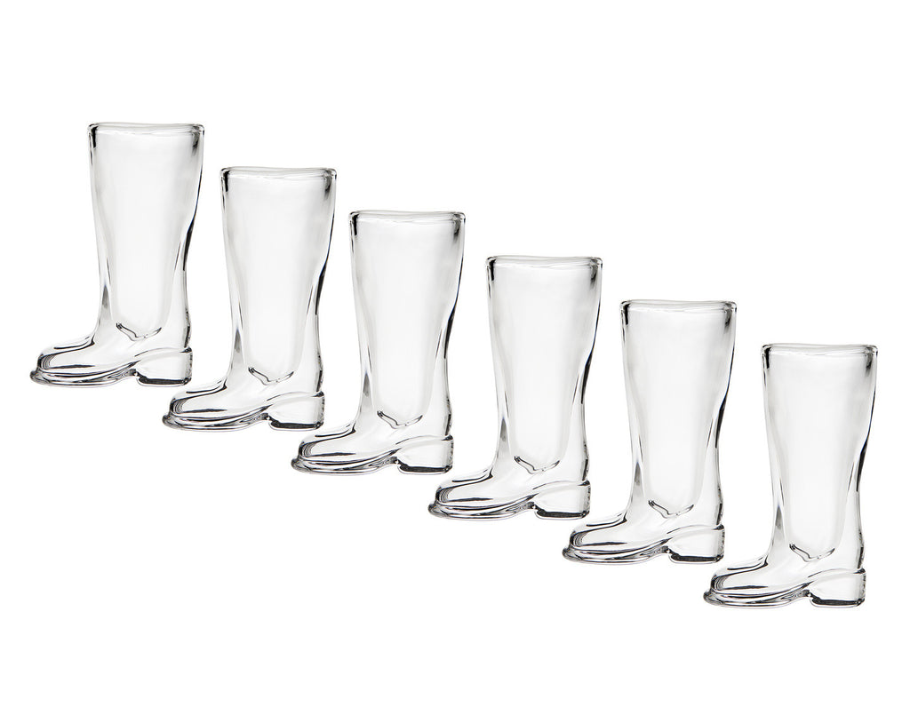 Boot Set of 6 Shot Glasses