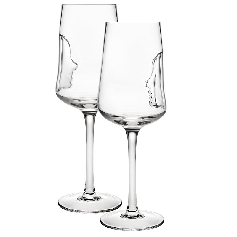 Silhoutte Set of 4 16oz Water Goblets