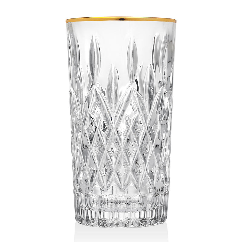 Birmingham Set Of 4 Gold Highball Glasses