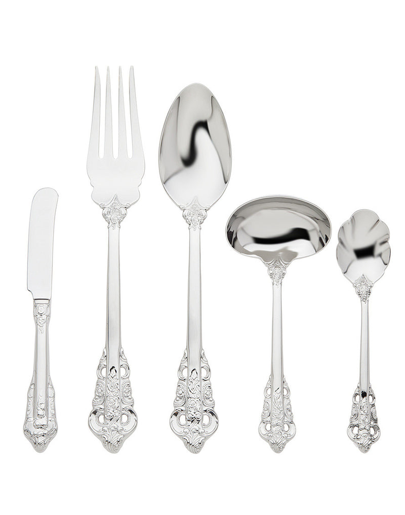 18/10 20th Century Baroque 5 Piece Hostess Set