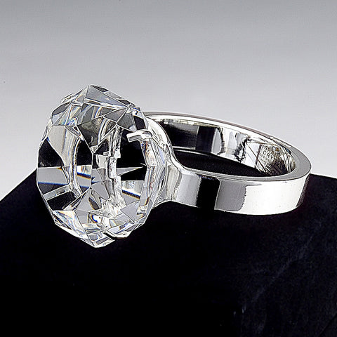 Paperweight Diamond Ring