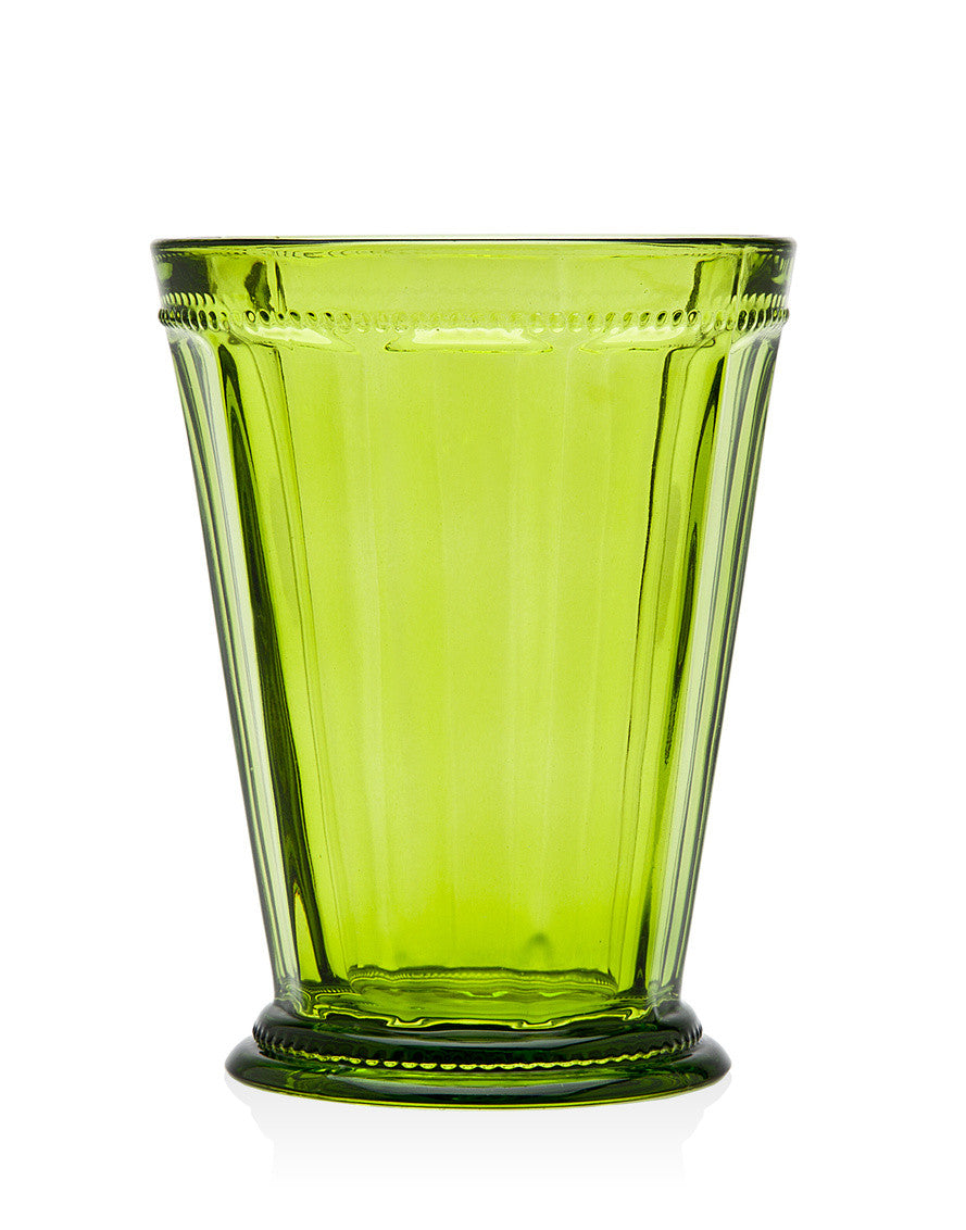 Hamilton House Set of 4 Green Tumblers