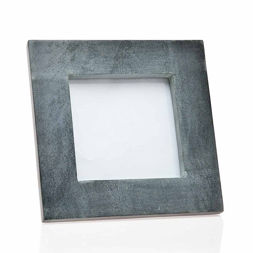 4 X 4 Black Marble Photo Frame