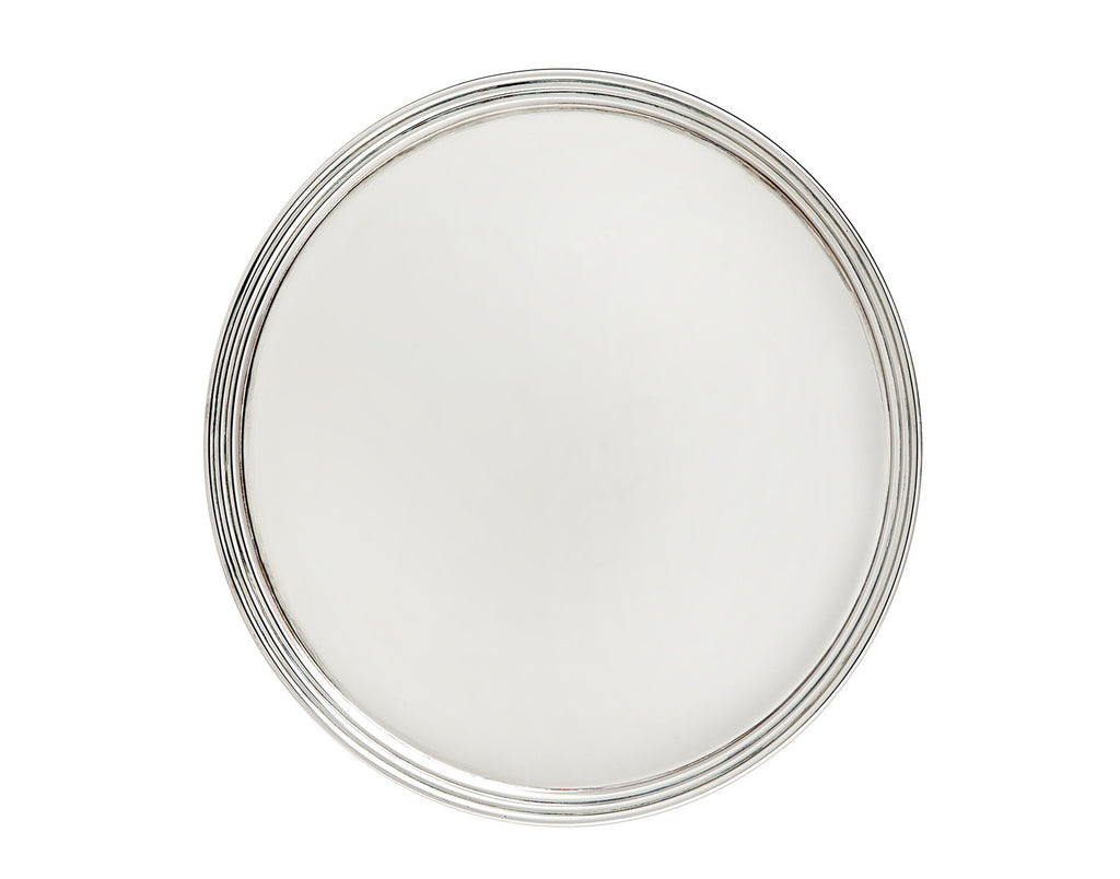 Banded Round Tray