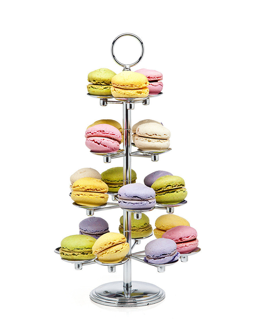 Revolving 21 Piece Macaron Stand