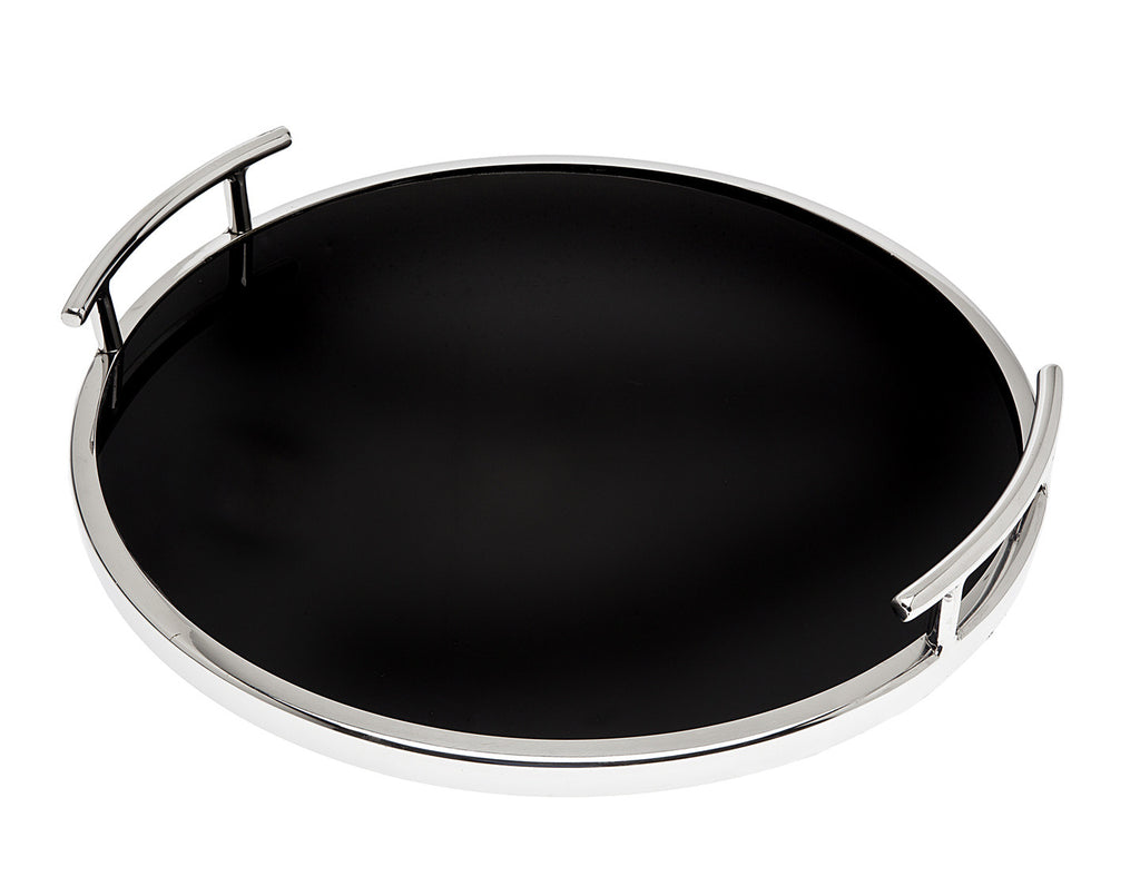 Handled Round Tray 14x14