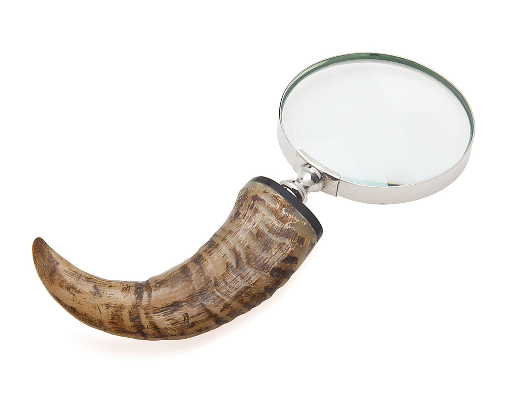 Natural Horn Magnifying Glass