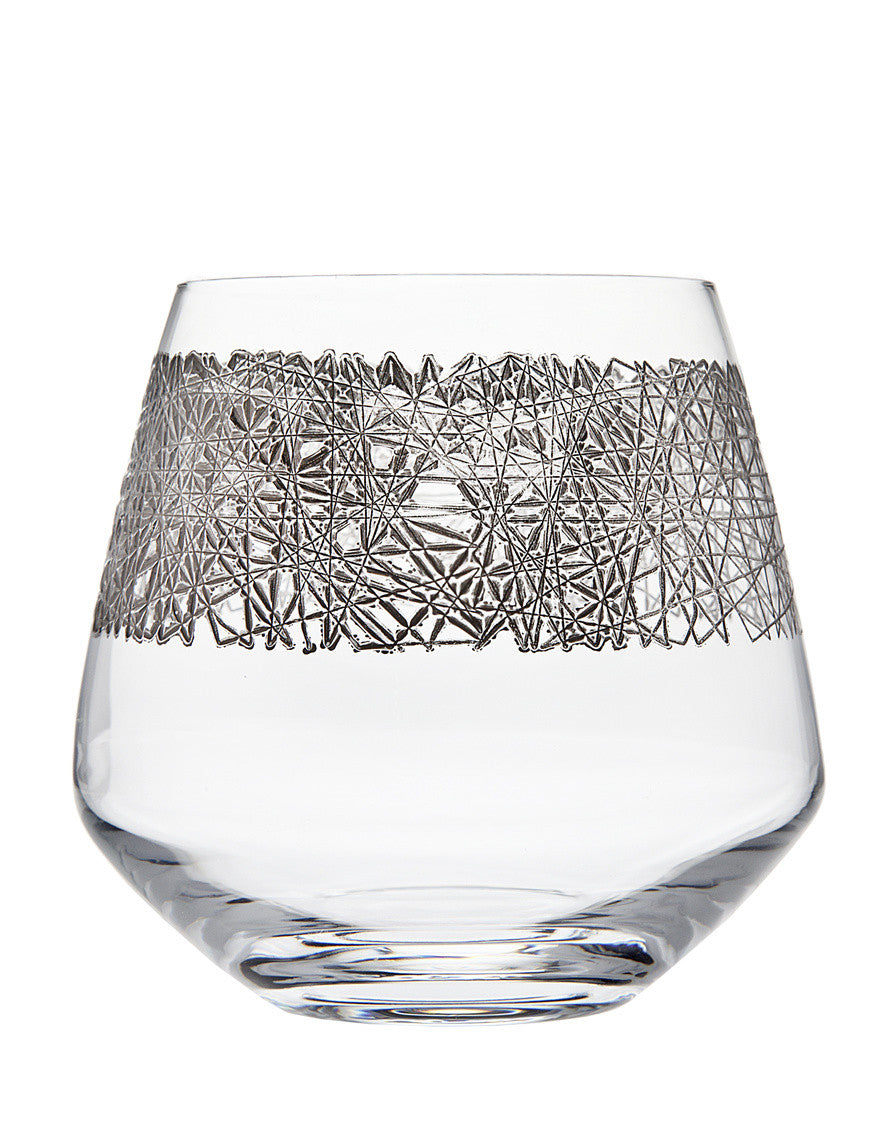Eclipse Set of 4 Platinum Tumblers