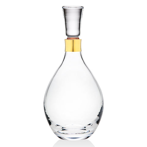 Molten Gold Whiskey Decanter