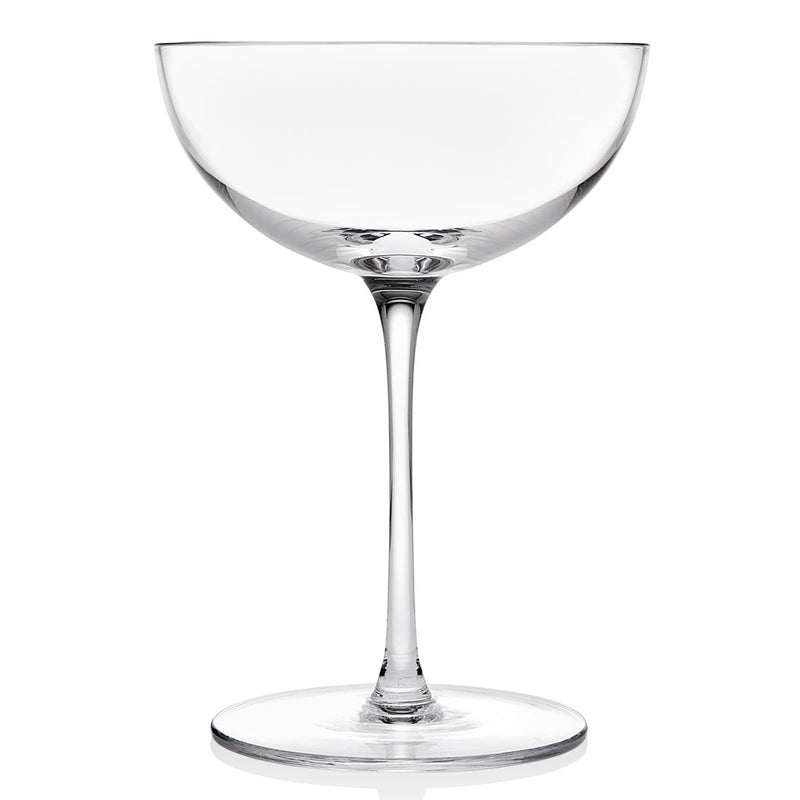 Rondo Set of 4 Coupe Cocktail 8oz Glasses