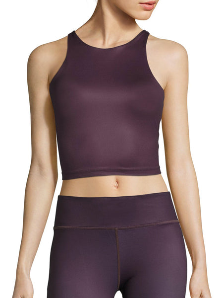 VIE ACTIVE Diana Long line Black Cherry