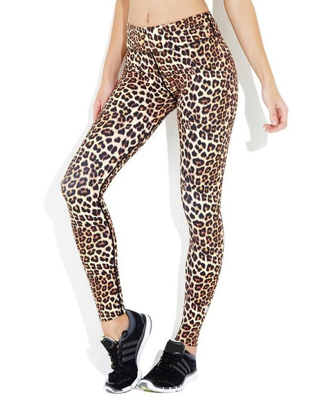 VIE ACTIVE Rockell - Brown Leopard