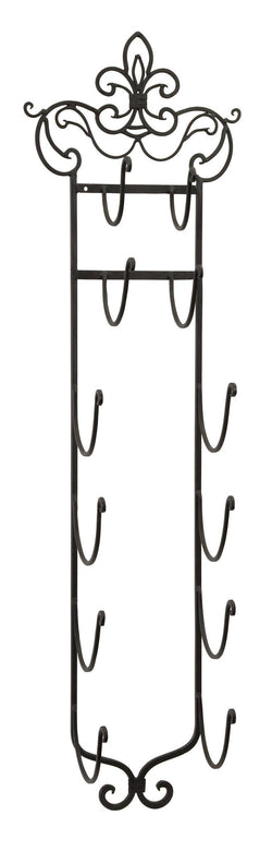 Metal Wall Mounted Towel or Wine Rack - Wine Rack Concepts