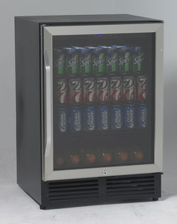 BCA516SS-5.0 CF beverage and wine cooler w/ glass door - Wine Rack Concepts