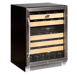 BWR-462DZ 46-Bottle Dual Temperature Zone Built-In Wine Refrigerator - Wine Rack Concepts