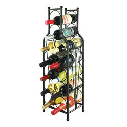 Wine Bottle Matrix 12 Bottle Wine Rack - Wine Rack Concepts