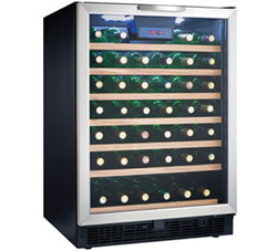 Danby DWC508BLS Designer 50 Bottle Built In Wine Cooler - Wine Rack Concepts