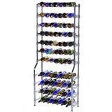 Epicurean 143 Bottle Chrome Wine Rack Storage - Wine Rack Concepts