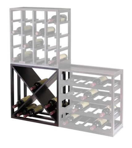 ... Kingston Modular 24 Bottle Wooden Wine Rack Cabinet   Wine Rack  Concepts ... Part 78