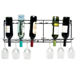 Vin-Array 6 Bottle Wall Wine Glass Rack - Wine Rack Concepts