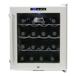 WC-16S SNO16 Bottle Stainless Steel Wine Cooler - Wine Rack Concepts