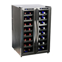 WC-321DD 32 Btl Dual Temperature Zone Freestanding Wine Cooler - Wine Rack Concepts