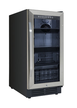 "BCA3115S3S-15"" Built-In Deluxe Beverage and Wine Cooler - Wine Rack Concepts"