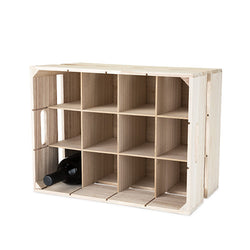 Wooden Crate 12 Bottle Wine Rack - Wine Rack Concepts