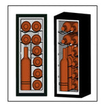 EWC1201 - 12 Bottle Thermoelectric Counter Top Wine Cooler - Wine Rack Concepts