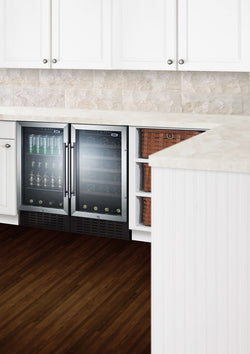 "SWC1840 - 18"" wide built-in under counter wine fridge - Wine Rack Concepts"