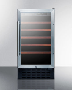 "SWC1840ADA - 18"" Built-in Slim Wine Fridge for ADA Height Counters - Wine Rack Concepts"
