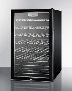 "SWC525LBI - 20""Built-in Wine Cellar w/ Lock and Digital Thermostat - Wine Rack Concepts"