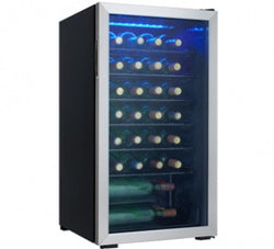 Danby DWC93BLSDB-36 Bottle Free Standing Wine Cooler - Wine Rack Concepts