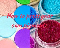 Very ImPRESSive:  How to Press Your Own Pigment