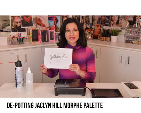 De-pot Jaclyn Hill Morphe Palette into Extra Large Z Palette on Vimeo