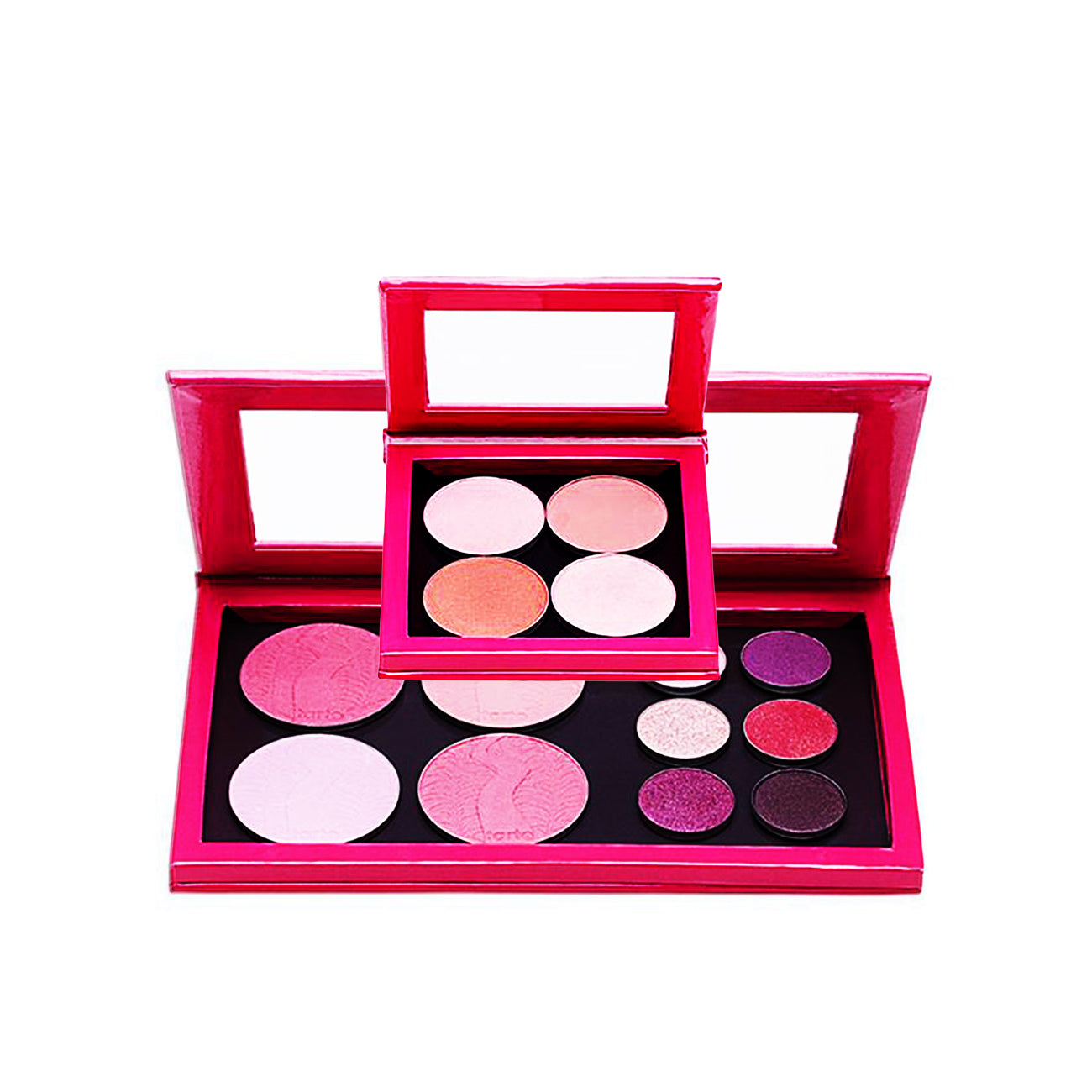 LARGE HOT PINK & SMALL HOT PINK Z PALETTES