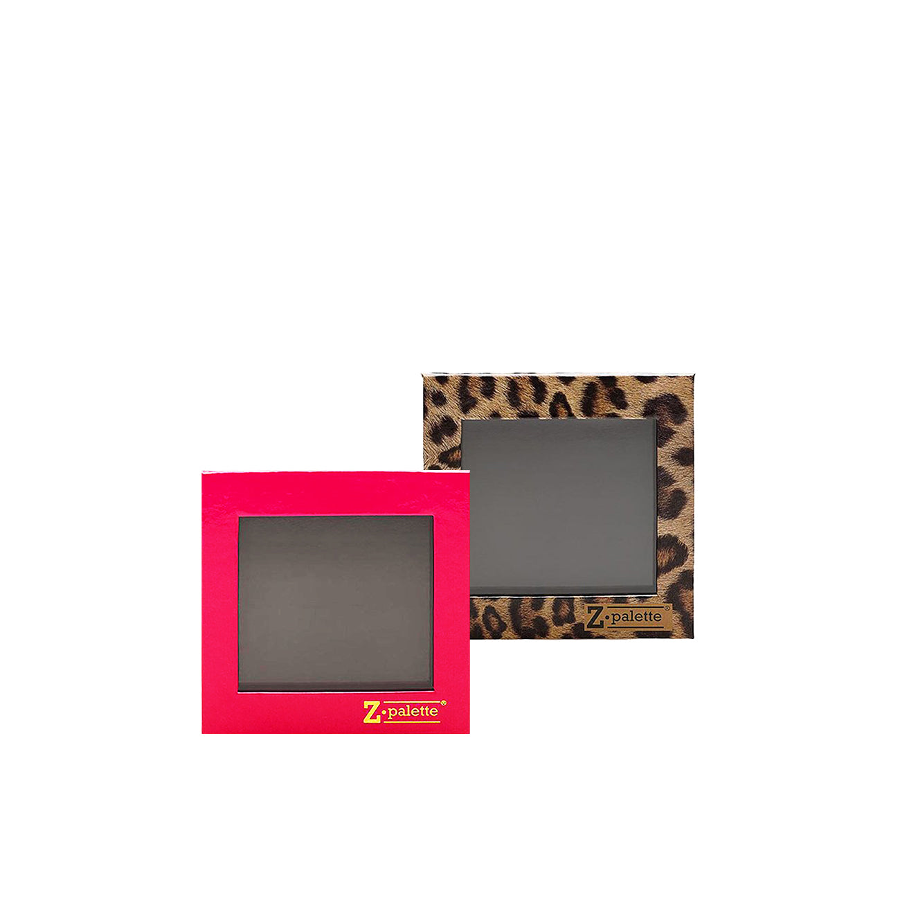SMALL HOT PINK & SMALL LEOPARD Z PALETTES