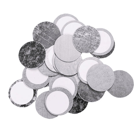 ROUND METAL STICKERS