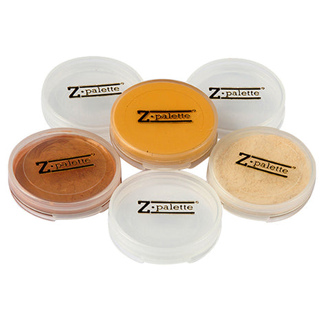 Medium Z Palette Travel Jars - 6 pack