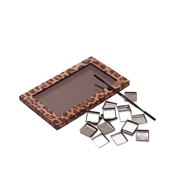 Magnetic Makeup Palette with Z Palette Spatula and Makeup Pans