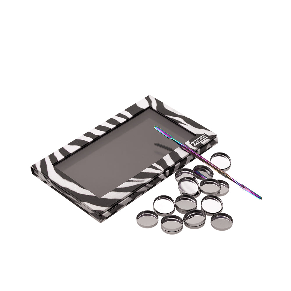 Magnetic Palette with Spatula and Round Makeup Pans Z Palette