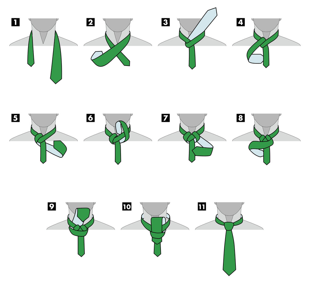 Full Windsor Knot | How To Tie A Neck Tie