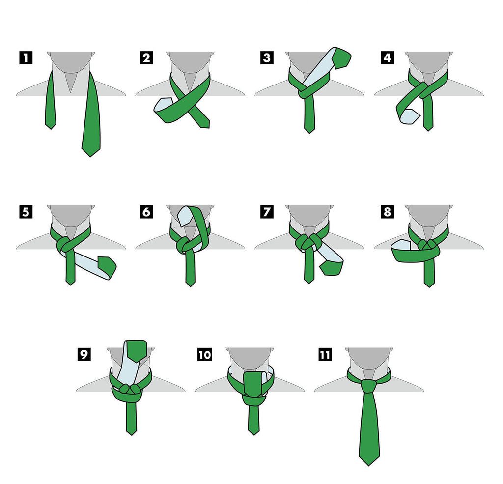 Full Windsor Knot | How To Tie a Tie