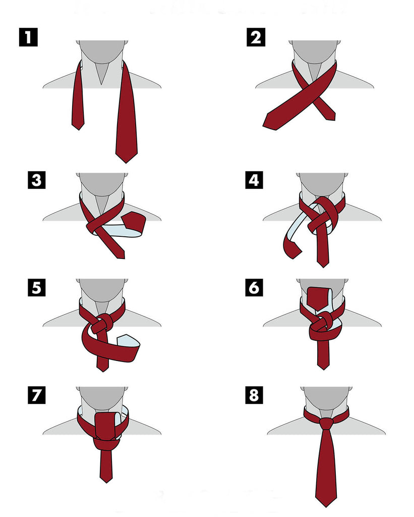 Half Windsor Knot | Tieing a Tie Instructions